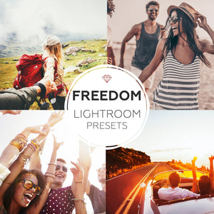 Freedom - lightroom presets