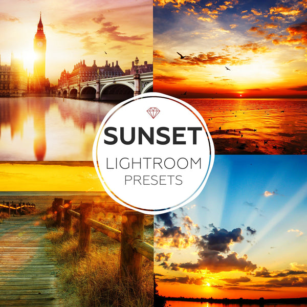 Sunset - lightoom presets