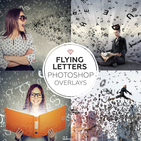 Flying Letters - Overlays