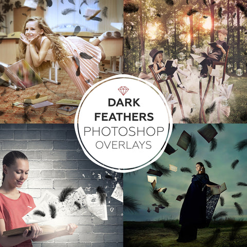 Dark Feathers - Overlays