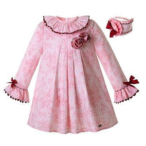 14250cf6c Pettigirl Newest Pink Girl Dress Printed Party Dresses With Head wear  Children Clothing - Adrian Baby