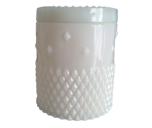 Porcelain White Rockstud Candle 320ml