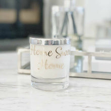Peony & Blush Suede Personalised Candle