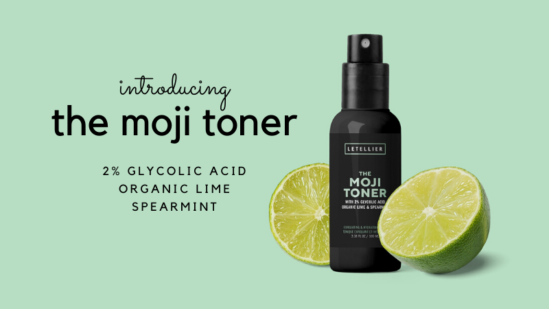 Exfoliate. Hydrate. Refine. With The Moji Toner.