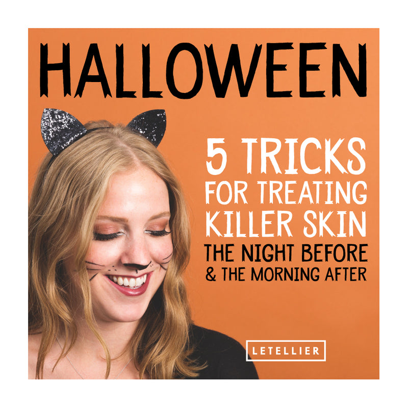 Halloween: 5 Tricks for Treating Killer Skin the Night Before & the Morning After