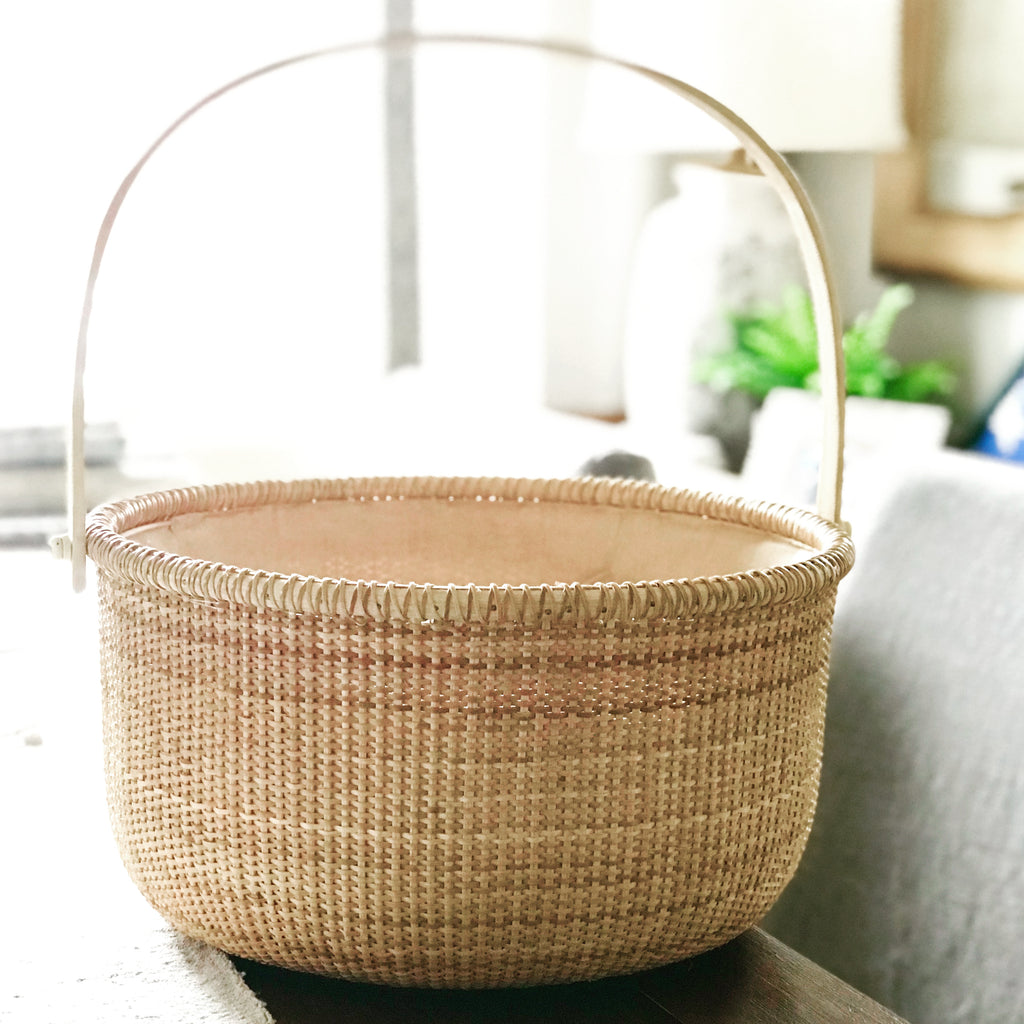Vintage Nantucket Basket - large
