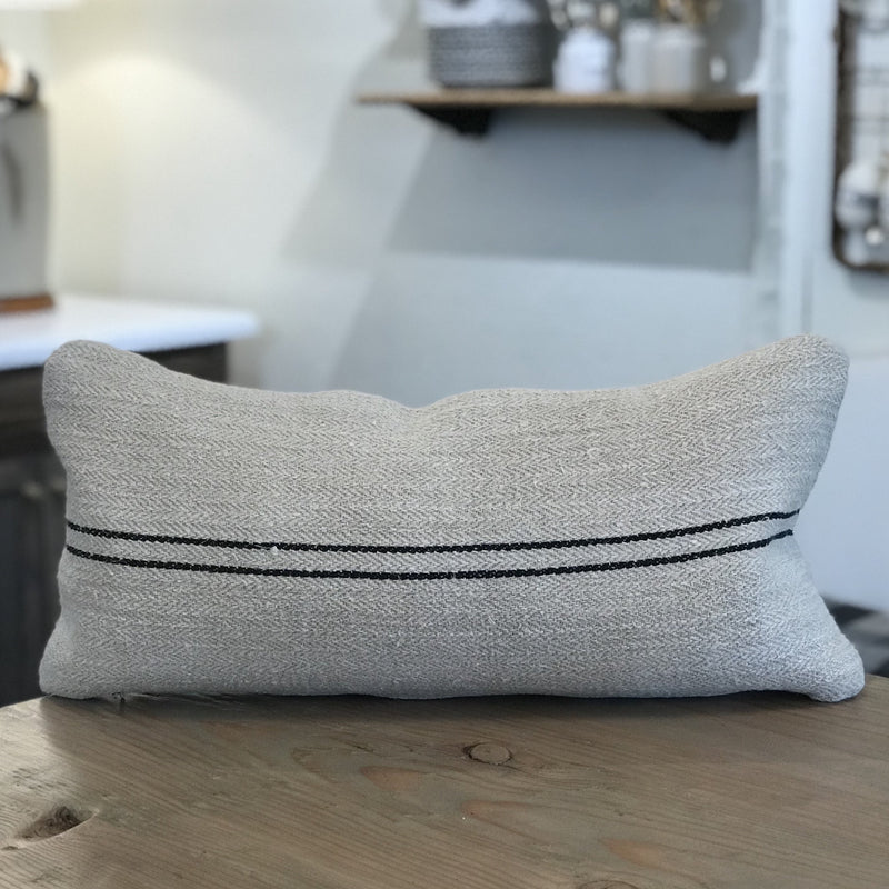 Antique French Linen Pillow