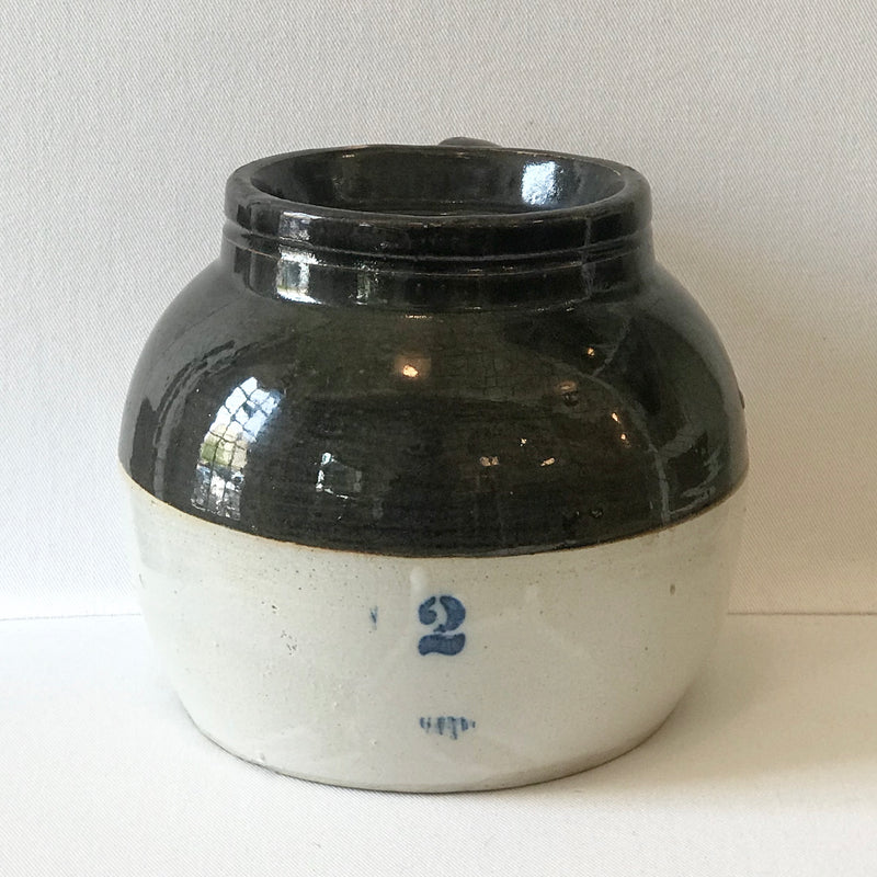 Antique Boston Bean Crock