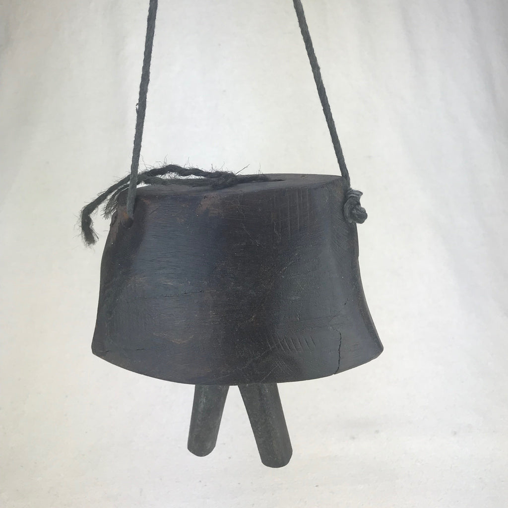Vintage Wooden Cow Bell