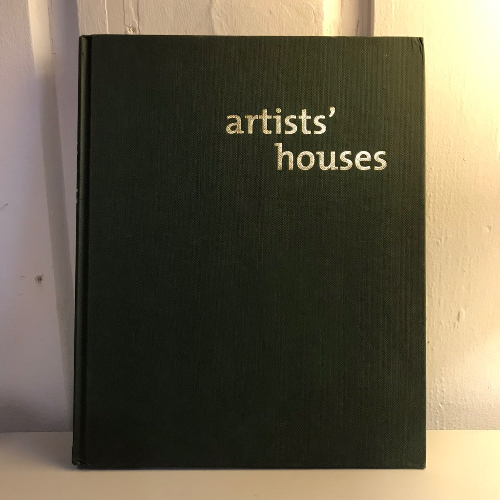 Book - Artists' Houses