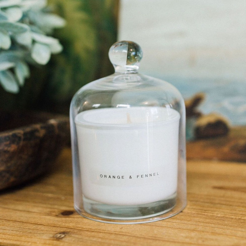 Natural Candle : Orange + Fennel