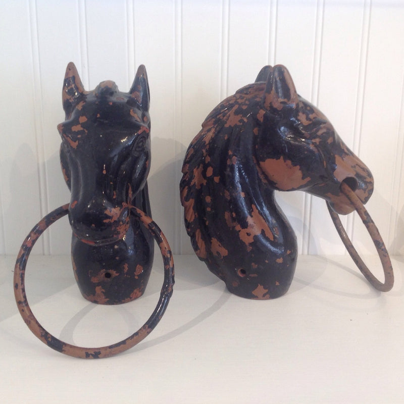 Antique Horse Head Hitch