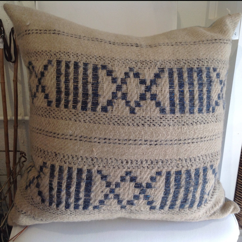 Vintage Poncho Pillow - Custom