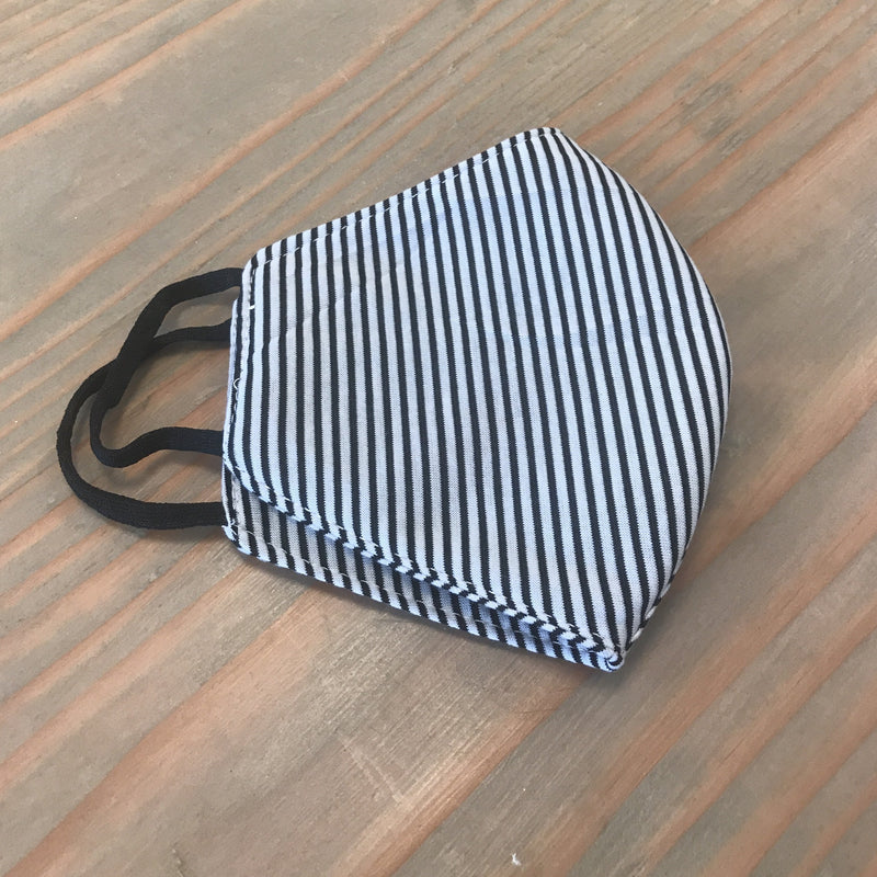 Cotton Face Mask - French Stripe
