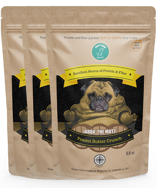 Jabba the Mutt | Peanut Butter Crunch (3 Pack)