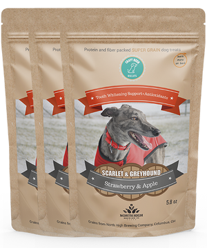 Scarlet and Greyhound | Strawberry and Apple (3-pack)