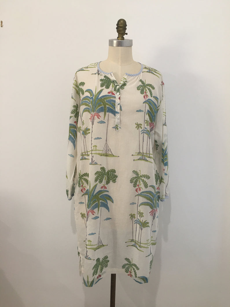HANNAH Dress - Palmtree