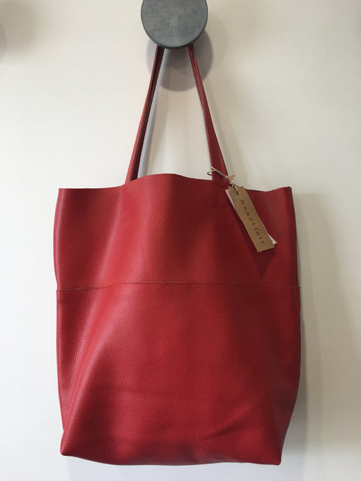 Leather Tote Bag - 4 Colours available