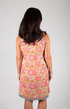 Annika Dress Sunburst Pink