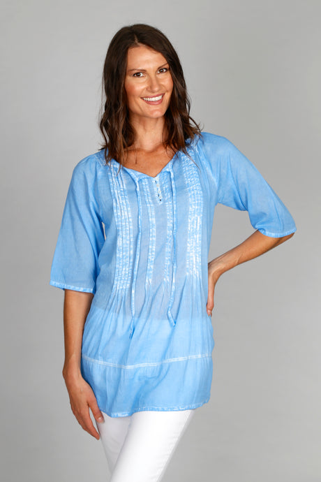 Heart Shirt - 100% Cotton Voile