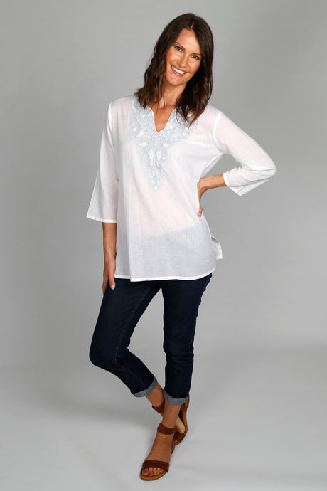 Kalpana Shirt - 100% Cotton voile