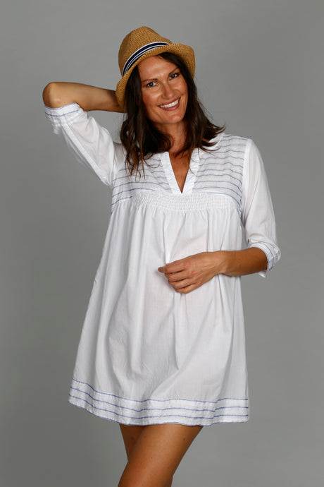 Ric Rac Top - 100% Cotton Voile