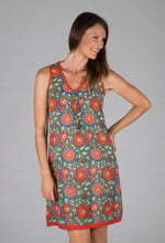 Annika Dress  Sunburst Terracotta