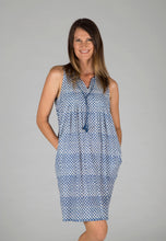 Stella Dress - Blue Triangle