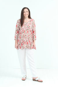 Mirvlana Shirt - Pink - One Size Shirt