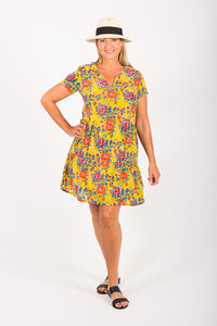New Indi Dress Citrus Floral