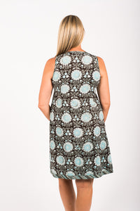 New Annika Dress in Ebony