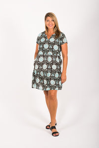 New Indi Dress Ebony Floral
