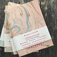 Marbled Cotton Paper Journal