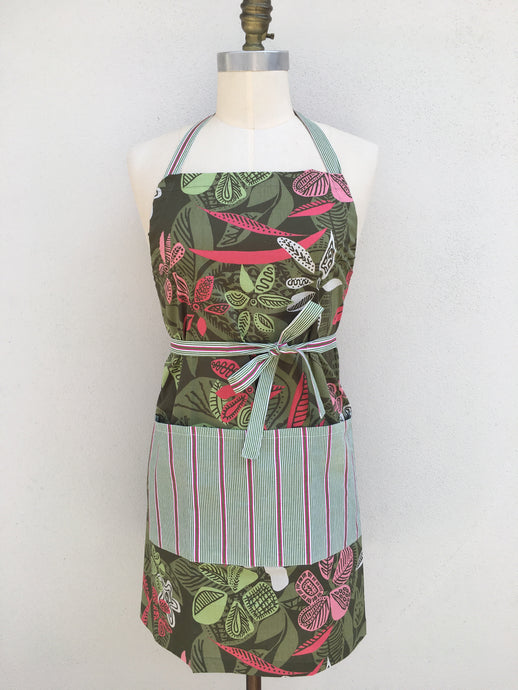 New - Perfect Apron - Jungle Olive