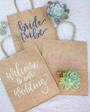 Load image into Gallery viewer, Custom Kraft Bags