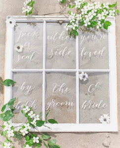 Reclaimed Window Pane