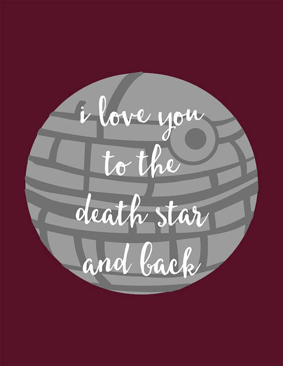 Death Star Blank Card
