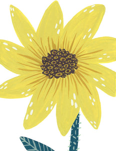 Sunflower Blank Card