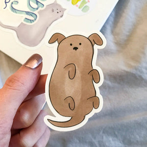 Rudy the Dog Sticker