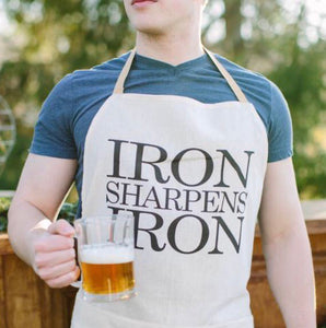 Iron Sharpens Iron Men's Apron