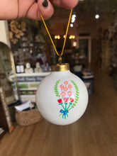 Load image into Gallery viewer, Ceramic Hand Painted Ornaments