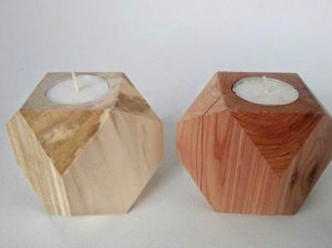 Geometric Tealight