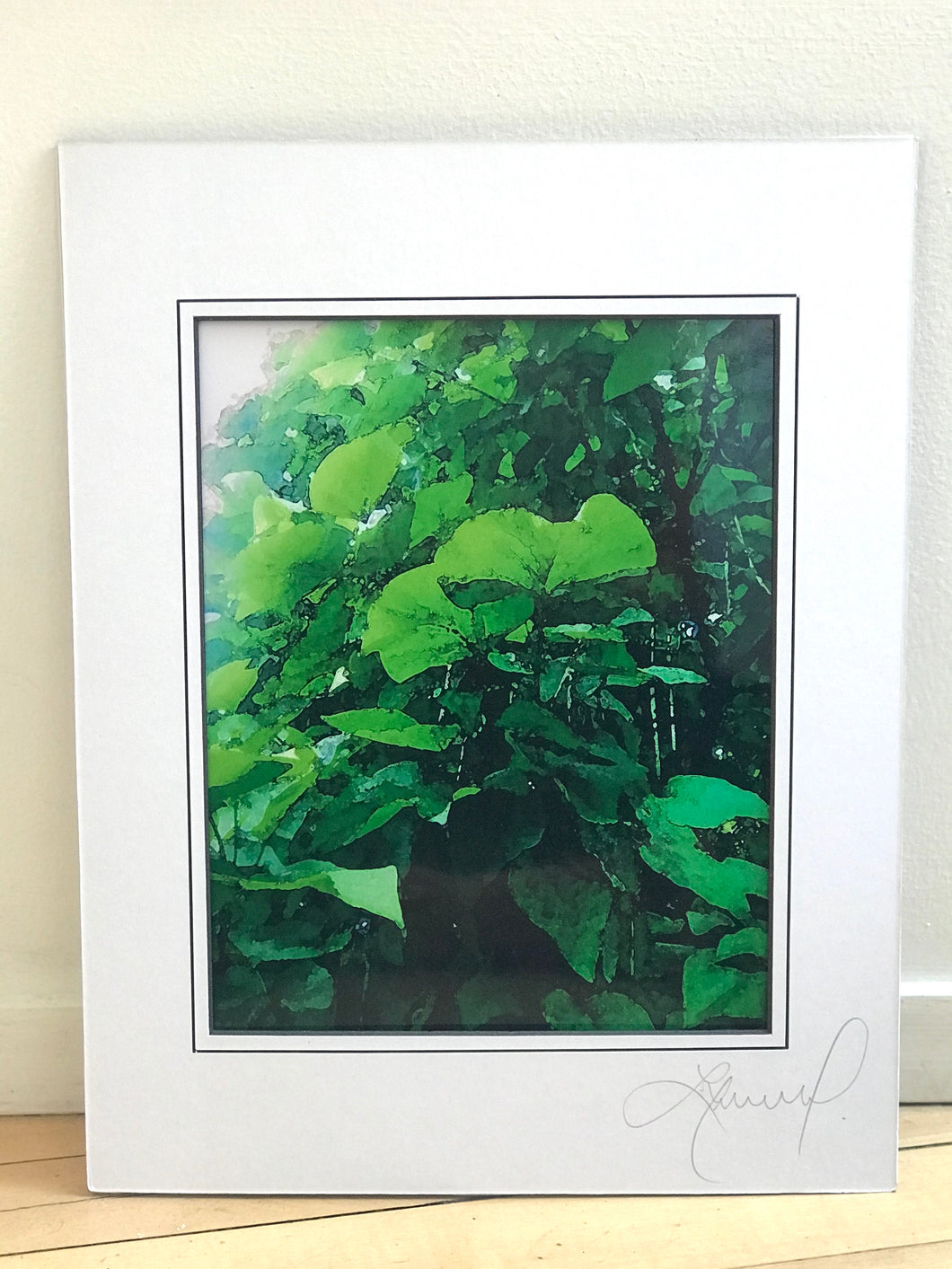 Clover Plant Abstract Print