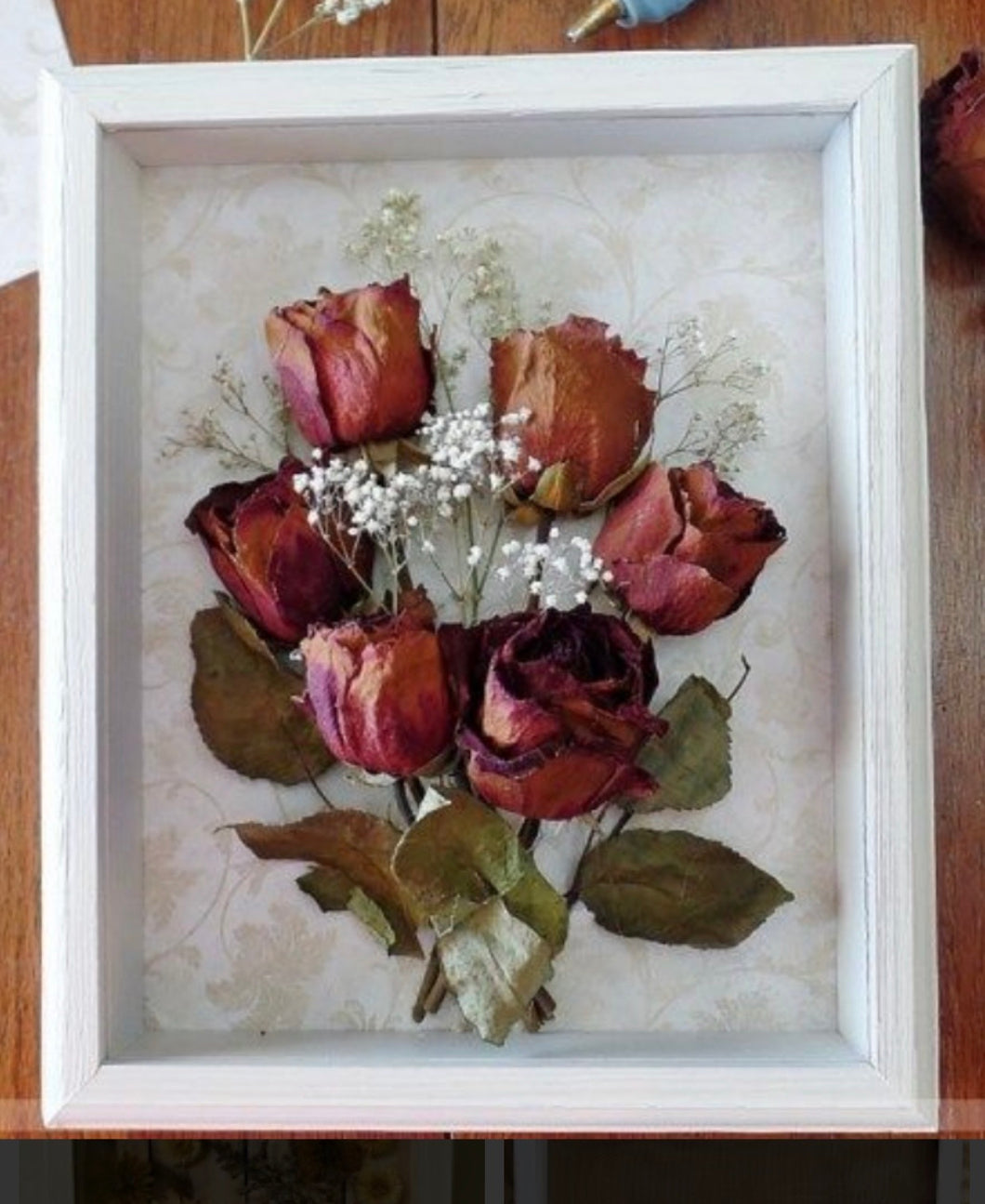 Custom Pressed Flower Box