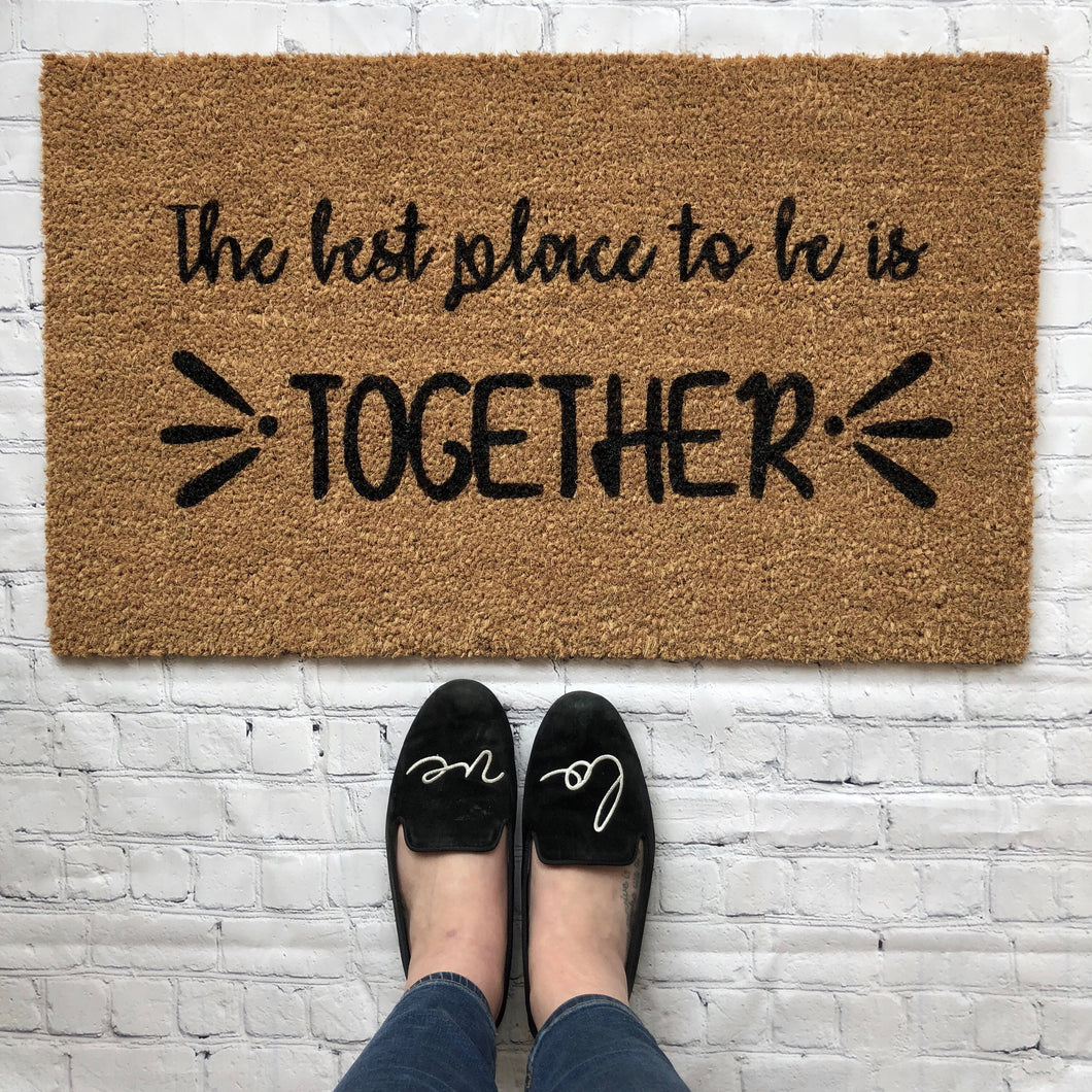 Together Doormat