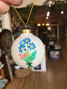 Ceramic Hand Painted Ornaments