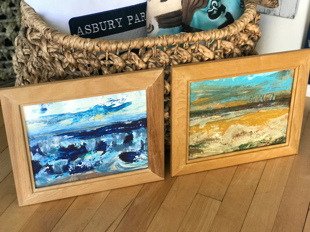 Natural Frame Abstract Paintings