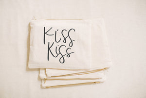 Kiss Kiss Cosmetic Bag
