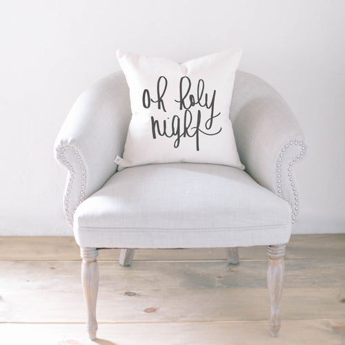 Oh Holy Night Pillow