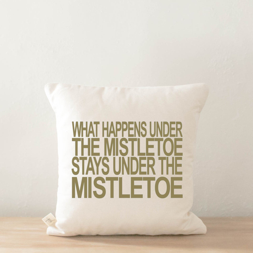 What Happens Pillow